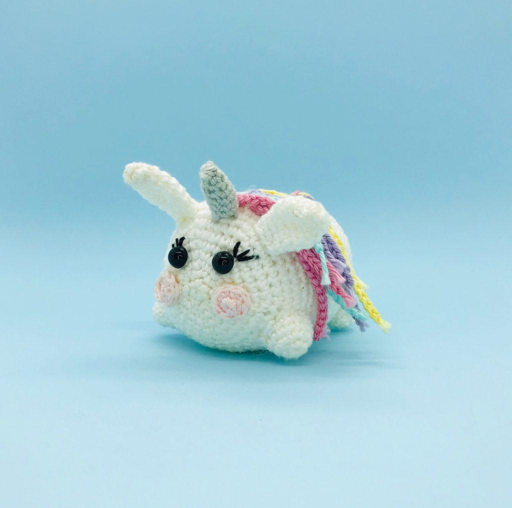 patron crochet licorne tsum tsum