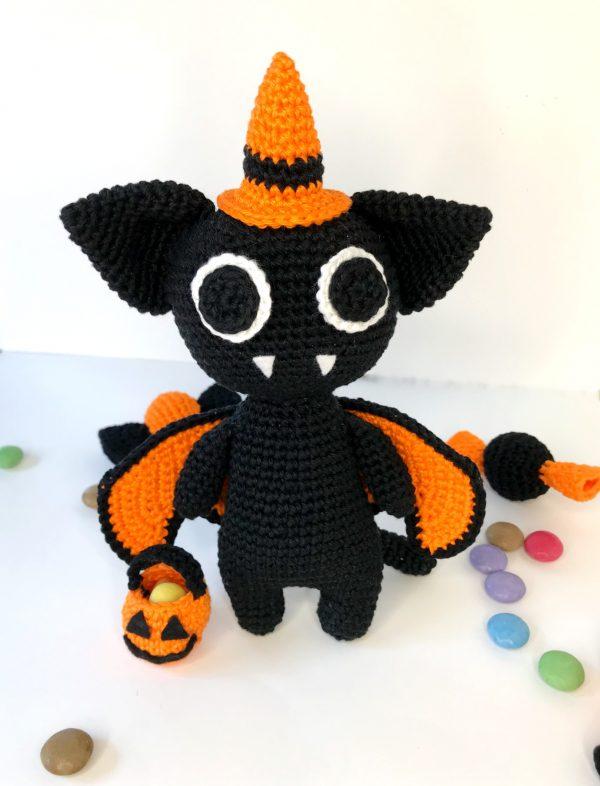 patron amigurumi chat vampire halloween
