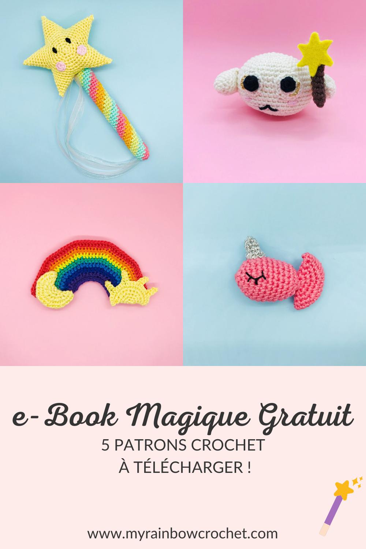 e-book magique gratuit patron crochet