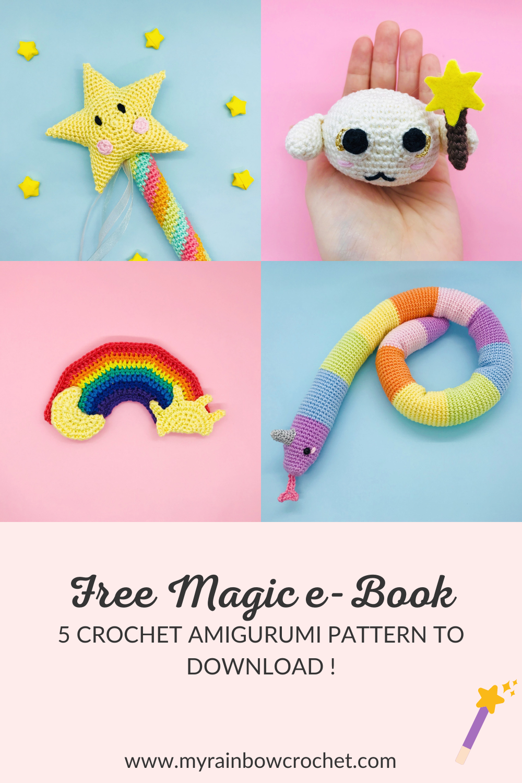 free magic e-book crochet pattern
