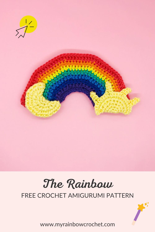 rainbow crochet pattern amigurumi free