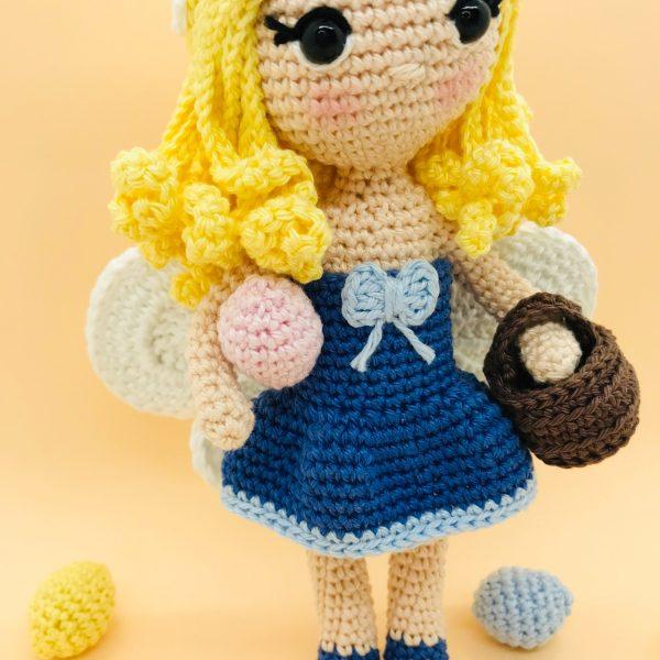 patron amigurumi crochet gaelia fée pâques