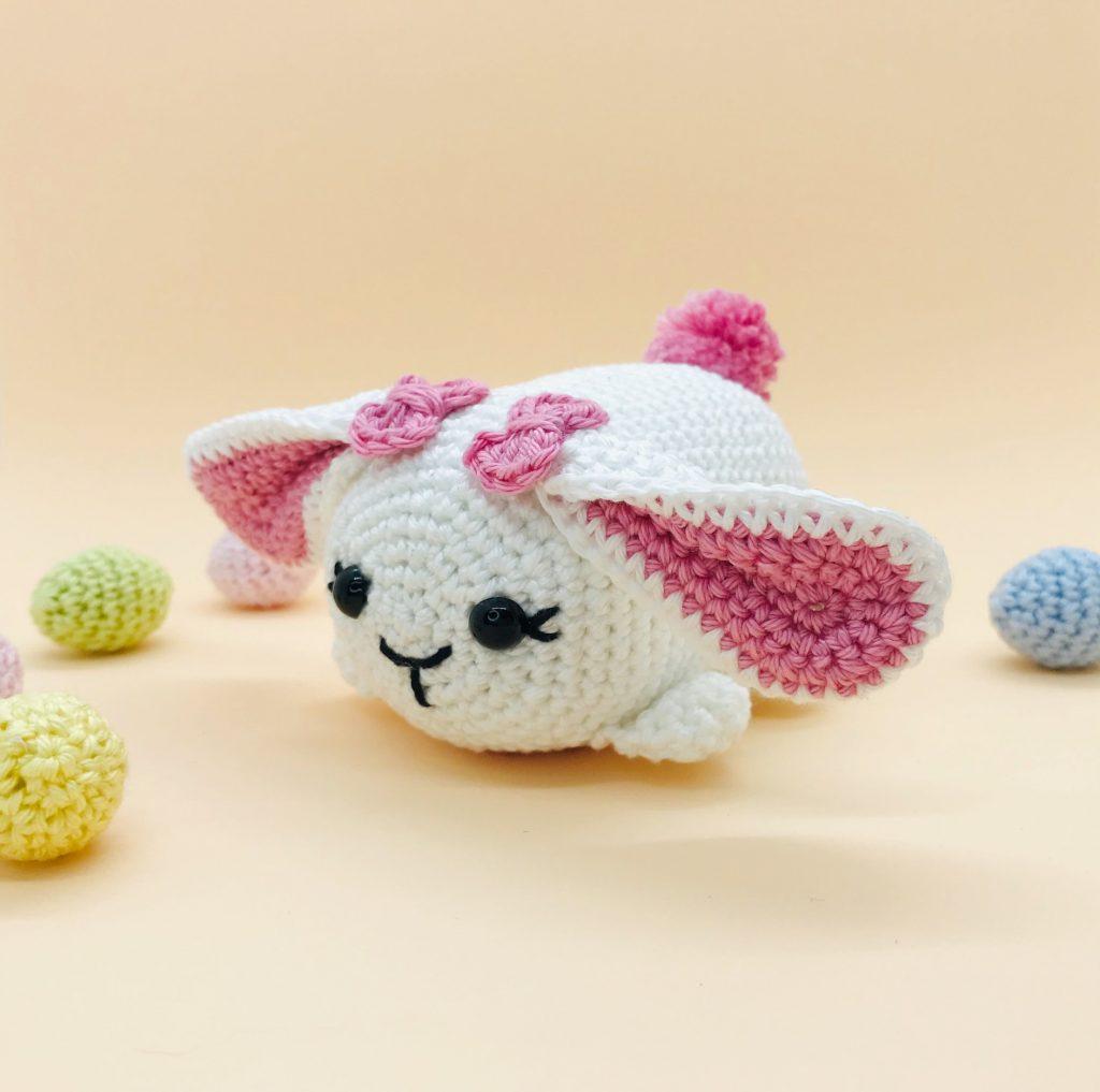 patron amigurumi crochet lapin tsum tsum