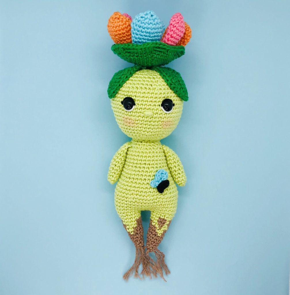 crochet pattern sam spirit flower