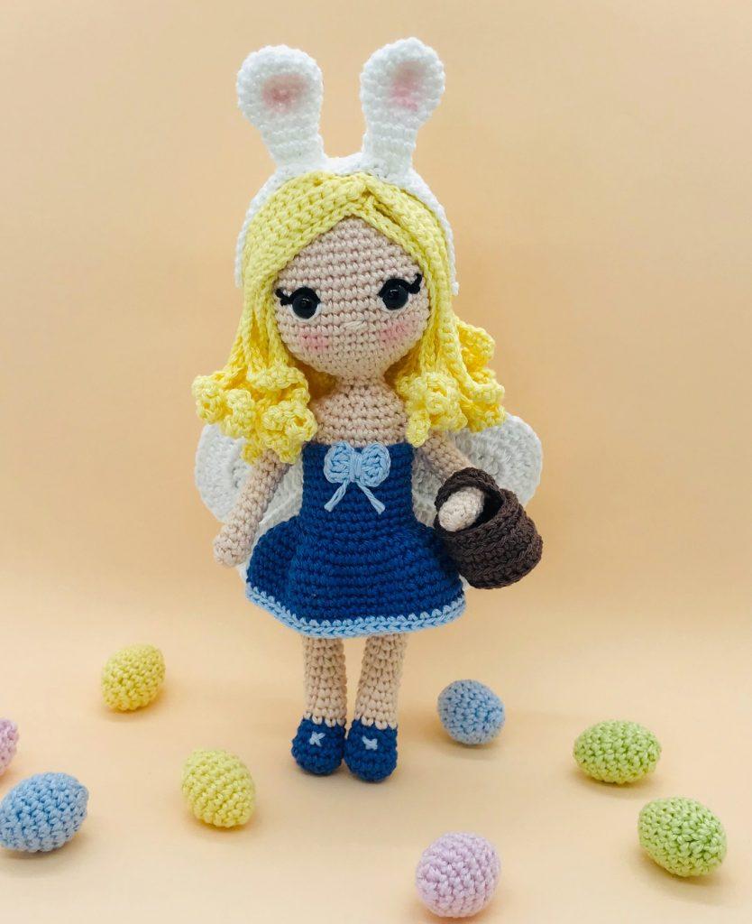 crochet pattern easter fairy
