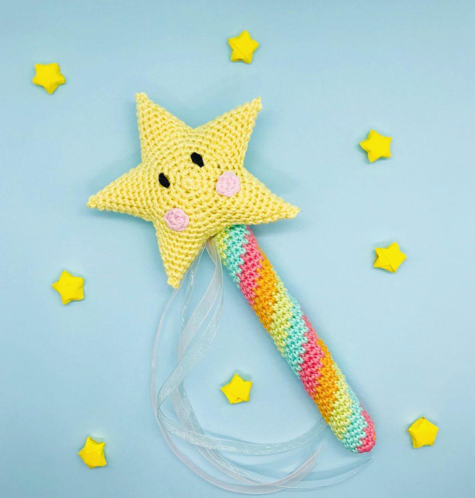 crochet pattern fairy magic wand