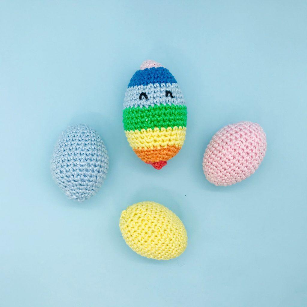 crochet pattern easter eggs