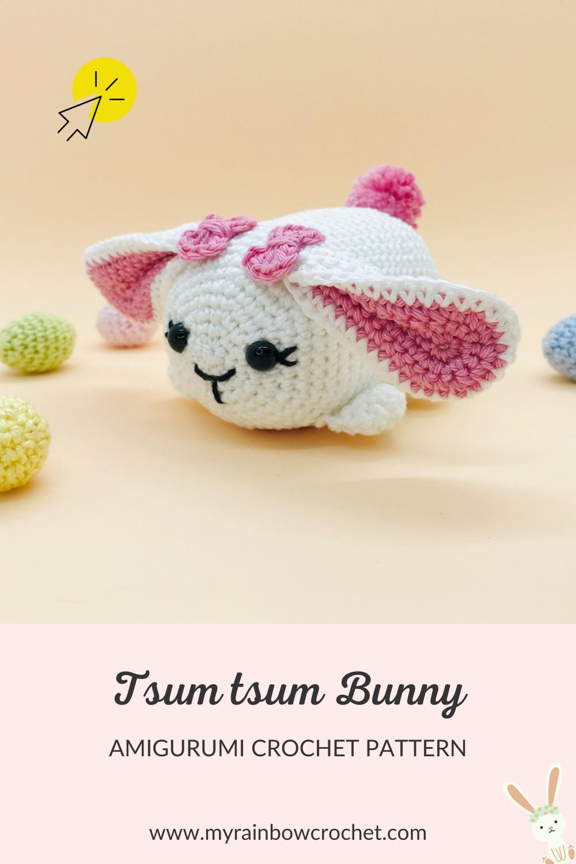 crochet amigurumi pattern tsum tsum bunny
