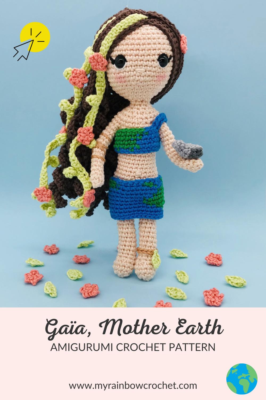 crochet pattern gaia mother earth