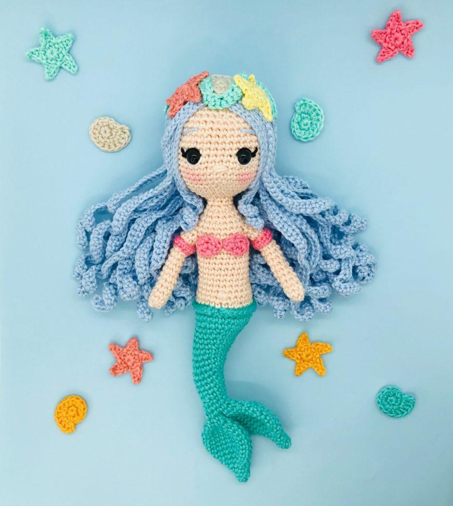 patron crochet marea princesse sirène