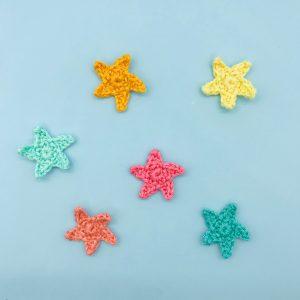 patron crochet étoile de mer