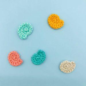patron crochet coquillage