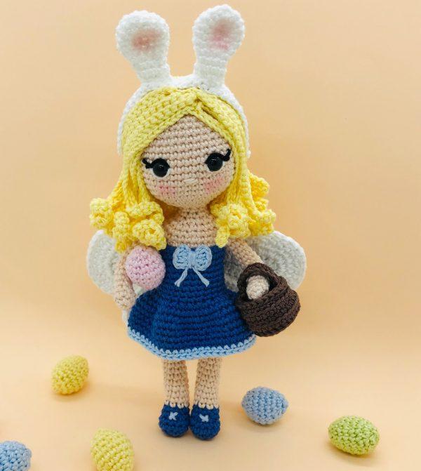 patron crochet gaelia fée pâques