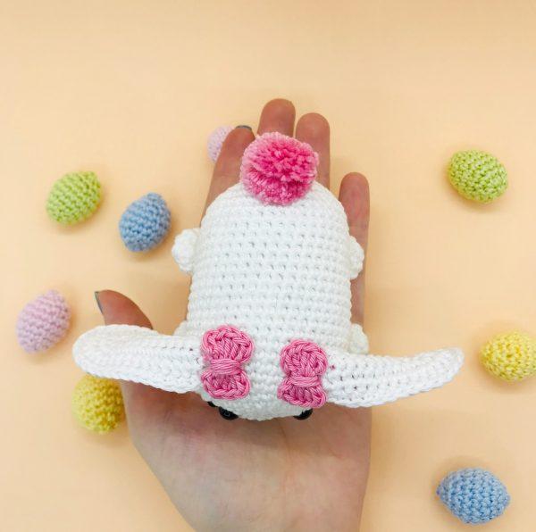 patron crochet lapine tsum tsum