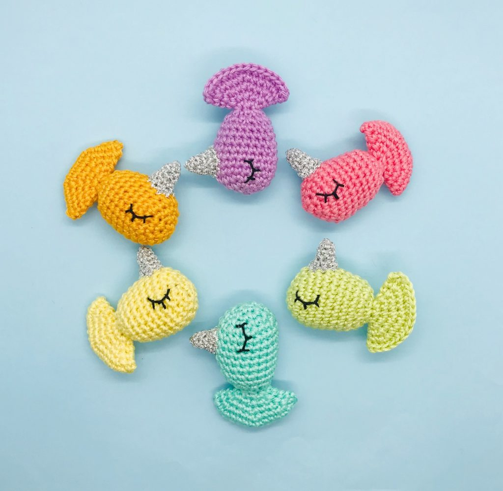 patron crochet poissicorne