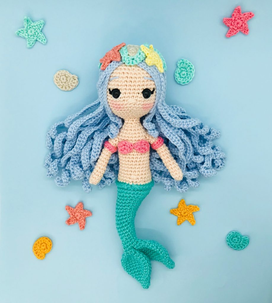 crochet pattern mermaid princess