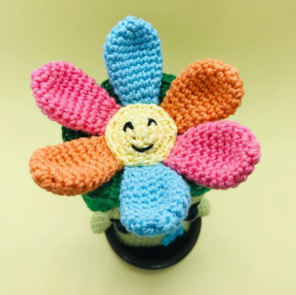 patron crochet esprit des fleurs